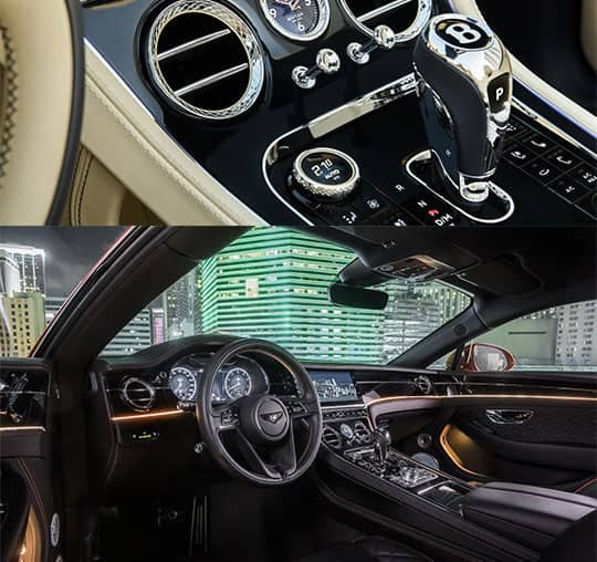 2020 Bentley Continental GT and GTC Interiors